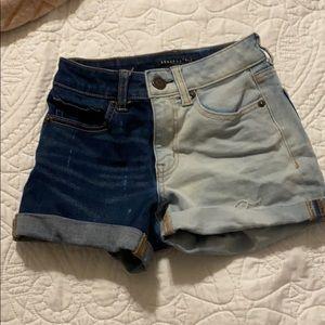 Aeropostale Half bleached shorts!